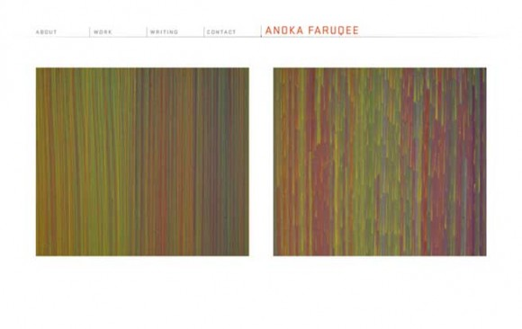 Anoka Faruqee Website