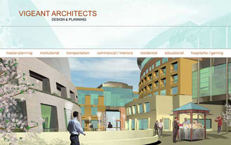 Vigeant Architects Website